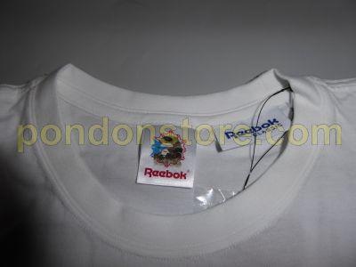 6f7a2db5c A BATHING APE : bape x Reebok classic logo white tee 01 [Pondon Store]