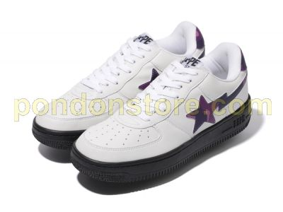 A BATHING APE   bape color camo bapesta white purple  Pondon Store  675ecda93