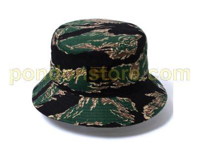 A BATHING APE   bape tiger camo bucket hat  Pondon Store  0f7e8089299