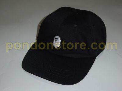 A BATHING APE   ape head cap black  Pondon Store  92583b56f19