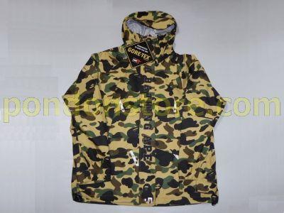 f81d1871b8750 A BATHING APE : 1st camo yellow goretex snow board jacket 16 A/W ...