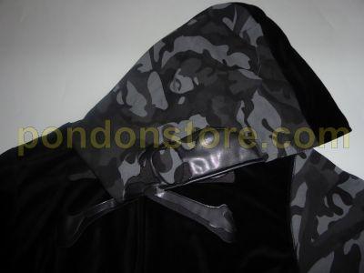 7c26daf2b552 A BATHING APE   mastermind Japan x bape velvet hoody black  Pondon Store