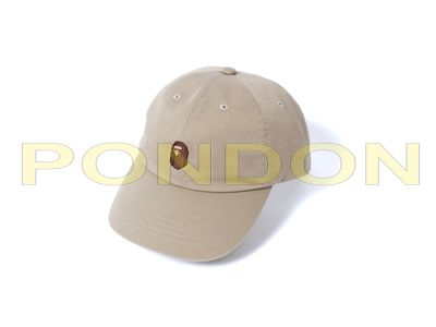 a72bef73987a A BATHING APE   ape head panel cap beige brown  Pondon Store