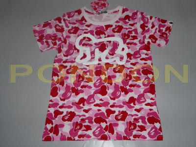 a485d19ddefda A BATHING APE : keith haring abc pink tee [Pondon Store]