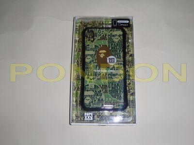 newest abadb c8642 A BATHING APE : gizmobies bape xxv iphoneX case green [Pondon Store]