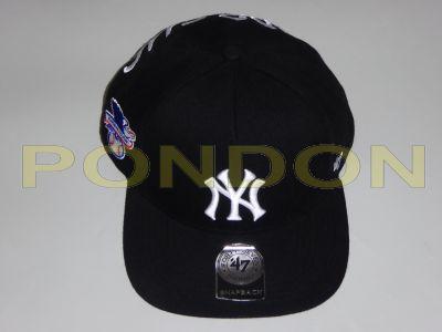 87309b809ba supreme   Supreme New York Yankees 47 brand 5-panel cap black ...