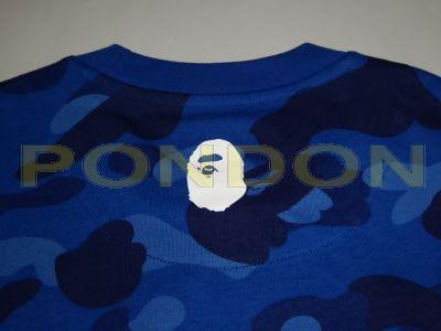 best service 59cf8 2a071 A BATHING APE : bape x adidas camo blue tee [Pondon Store]