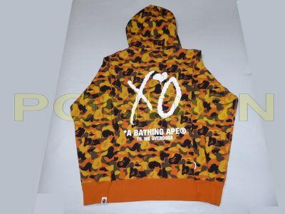 6009f8f3 A BATHING APE : bape x XO camo shark pullover hoody [Pondon Store]