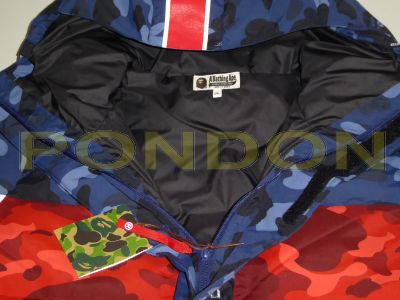 2a34eac0 A BATHING APE : bape x PSG long down jacket [Pondon Store]