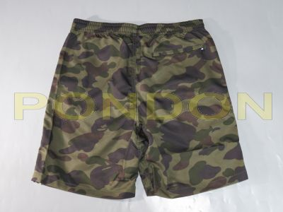be4e1262a5 A BATHING APE : bape 1st camo green beach pants [Pondon Store]