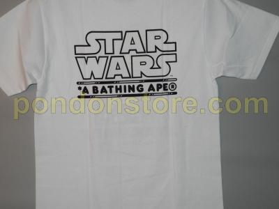 fa3f53d2 A BATHING APE : BAPE x STAR WARS milo C3PO R2-D2 white tee [Pondon ...