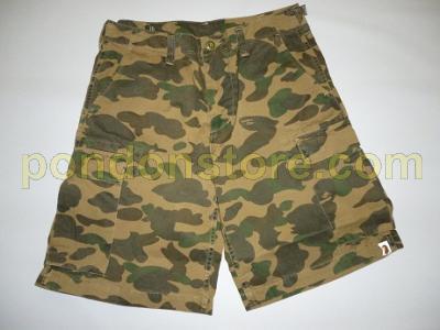 A Bathing Ape Bape St Camo Green  Pocket Shorts Pants