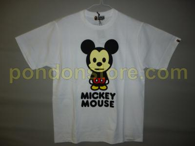 8b37a587 A BATHING APE : disney x bape mickey mouse milo d24 tee Ladies ...