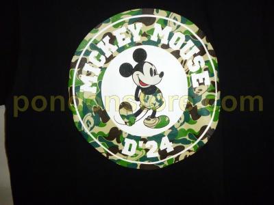 f4eab9c8 A BATHING APE : disney x bape mickey mouse circle black d24 tee ...