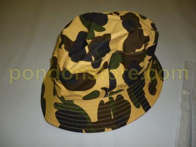 A BATHING APE   bape 1st camo yellow bucket hat  Pondon Store  bfbd182c1e4