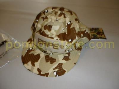 cf596716b11 A BATHING APE   stussy x bape desert camo baseball cap beige  Pondon ...