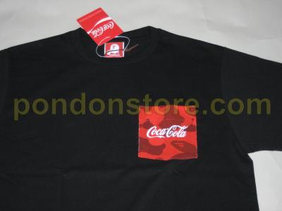 752294ae8 A BATHING APE : bape x Coca Cola pocket black tee [Pondon Store]