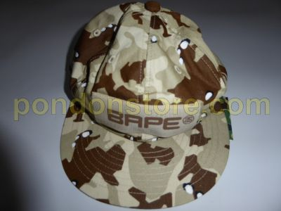 6b71587e54c A BATHING APE   bape x stussy Desert Camo Strapback Cap beige ...