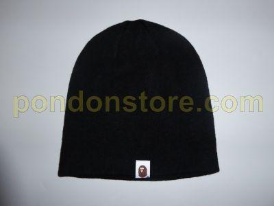 dd69adfa7de A BATHING APE   bape knit cap beanie black sale  Pondon Store