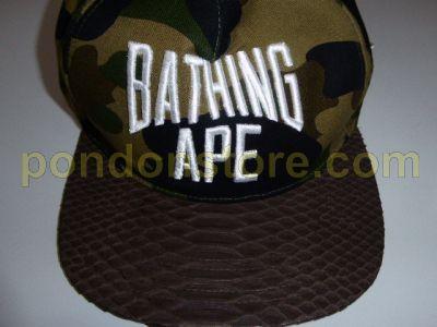 A BATHING APE   bape x RSVP just don 1st camo snake snapback cap ... 717c45e29a6