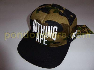 A BATHING APE   bape x RSVP 1st camo snapback cap green  Pondon Store  f9741b7df33