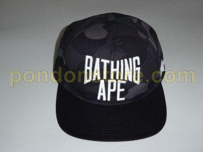 A BATHING APE   bape x RSVP 1st camo snapback cap black  Pondon Store  36ef6036d34