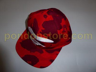 ... A BATHING APE bape color camo ape face snap back cap red timeless  design 70763 a7a4f ... c8980d9c8878