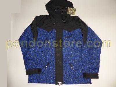4a66ece72334 A BATHING APE : bape leopard camo blue snow board jacket [Pondon Store]