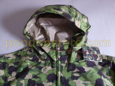 526f00fa24077 A BATHING APE : bape clouds camo green rain jacket [Pondon Store]